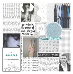 """""""— wanna be a better man, but it's a hard life :: thefcb"""" by birdy3000 ❤ liked on Polyvore featuring art, fans, Dccomics, wentworthmiller, captaincold and thefcb"""