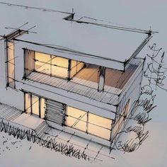 Zaha Hadid Architecture, Poster Architecture, Croquis Architecture, Le Corbusier Architecture, Architecture Design Concept, Interior Architecture Drawing, Architecture Portfolio Layout, Bauhaus Architecture, Architecture Drawing Sketchbooks