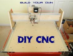 Woodworking 101 Make Your Own DIY CNC - This instructable outlines the assembly process of my generation CNC machine which I designed to be simple to build and quiet enough to be apartment friendly. Routeur Cnc, Diy Cnc Router, Cnc Woodworking, Woodworking Projects, Cnc Router Plans, Unique Woodworking, Youtube Woodworking, Woodworking Basics, Woodworking Magazine