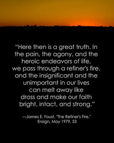 LDS Adversity Quote  #hope #peace #trials sprinklesonmyicecream.blogspot.com