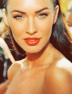 Beautiful Eyes, Beautiful People, Beautiful Women, Naturally Beautiful, Maquillaje Megan Fox, Megan Fox Makeup, Megan Fox Lips, Megan Fox Photos, Beauty Makeup