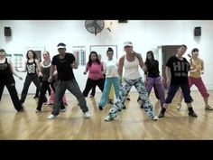 This has been a class favorite and is always fun to do!  Again...thanks to all of the faithful Zumba fans that came to the gym on their Sunday to help finish filming all our songs before I move this summer!  Y'all are awesome!!  (I do not own the right to this song and this video is only meant for entertainment purposes only.)