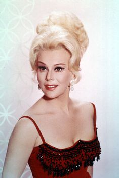 """Eva Gabor -- (1919-1995). Hungarian-born American Socialite/Stage, Film and TV Actress/Businesswoman/Voice-Over/Game Show Panelist. She played Lisa Douglas on """"Green Acres"""". Voiced Duchess in """"The Aristocats"""", and Voiced Miss Bianca in """"The Rescuers"""" & """"The Rescuers Down Under"""" She died from Respiratory Failure and Pneumonia."""