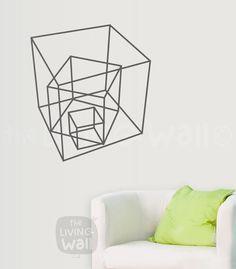 Diamantes decorativos geométricos, Decoración geometrico, Vinilos decorativos