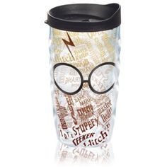 Tervis Multi Harry Potter8482 - Glasses And Scar Tumbler ($24) ❤ liked on Polyvore featuring multi