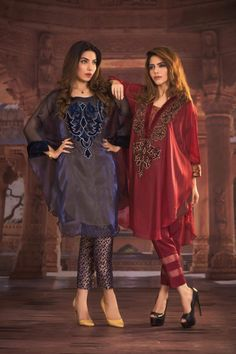 Indo Western Dresses, Gowns, Lehenga, Suits & Kurtis for Womens New Designer Dresses, Indian Designer Outfits, Pakistani Fashion Casual, Indian Fashion, Latest Dress For Women, Pakistan Fashion, Party Wear Dresses, Western Dresses, Mode Hijab