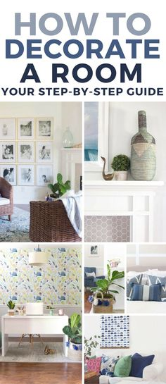 This is the most helpful decorating guide. Step-by-step guide to decorating a room from start to finish. Saving!!!