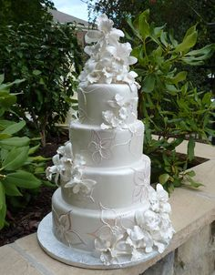 Another pretty cake by Amphora Bakery! A tier too tall though.