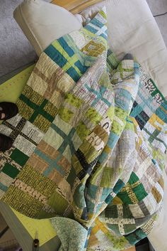 """plus"" quilt, using rectangles rather than squares, and the rows don't have matching seams."