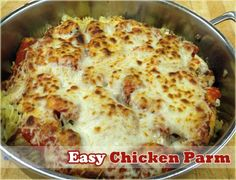 Easy Chicken Parmesan Recipes - This website also has great Crockpot recipes