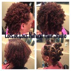 Lots of Locs Natural Hair Studio - Sisterlocks Install by Tanyika G.