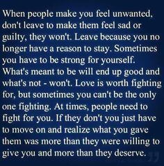 yeah.. been through this enough for a lifetime. Moving on.. Not gonna repeat this same cycle, Lord willing.