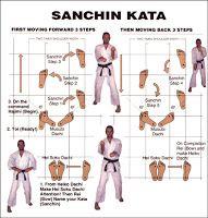 sanchin kata steps - Google Search
