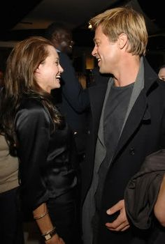 """""""She is my great love, my best friend, a generous woman, and a fantastic mother."""" ~ Brad Pitt"""