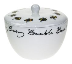 Busy Bumble Bee Sugar Bowl by Sophie Allport