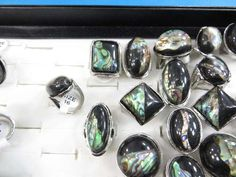 fashion jewelry rings with large resin $1.25 - http://www.wholesalesarong.com/blog/fashion-jewelry-rings-with-large-resin-1-25/