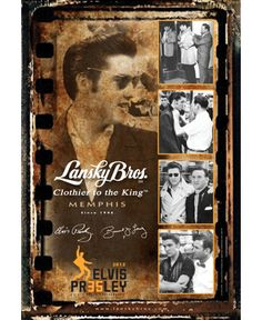 """Lansky Bros. Clothier to the King.  I feel so lucky to have met Bernard Lansky.  Great guy, great store.  The main store with """"fine men's sportswear"""" is very rock-n-roll.  You kinda have to be a badass to rock some of his shirts."""
