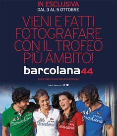 Dal 3 al 5 ottobre, il trofeo della Barcolana nello store Coin di Trieste!