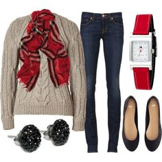 """Autumnal Attire"" by qtpiekelso on Polyvore"