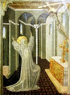 Pictures of St. Catherine of Siena in Art and Images. Paintings of Saint catherine by famous artists St Catherine Of Siena, 1st Century, Catholic Art, Famous Artists, Middle Ages, Metropolitan Museum, Renaissance, Cool Art, Medieval