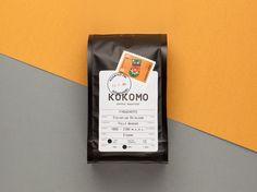 Kokomo Coffee packaging on Behance