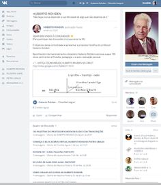 Acervo Virtual Huberto Rohden & Pietro Ubaldi ®: CONVITE: Comunidades Huberto Rohden e Pietro Ubaldi na Rede Social VK