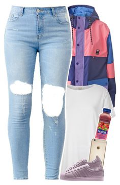 """""""color block...."""" by daisym0nste ❤ liked on Polyvore featuring Lazy Oaf and River Island"""
