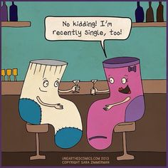 Relationship humor and relationship cartoons about being single, and in this case, being single socks. More relationship and marriage comics from webcomic Unearthed Comics. Relationship Cartoons, Deep Relationship Quotes, Funny Relationship, Relationships Humor, Distance Relationships, Cute Puns, Funny Puns, Hilarious, Funny Humor