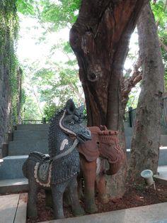 terracotta small statue