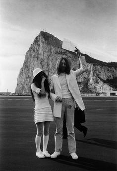1969- Lennon & Yoko