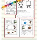 This unit contains:  a making words activity,  Can, Have, Are activity Color by Code Mini-book Following Directions activities Vocabulary work Self...