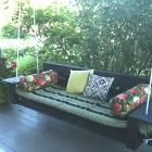 Ana White   Build a Large Modern Porch Swing or Bench   Free and Easy DIY Project and Furniture Plans