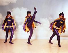 Yvonne Craig as Batgirl.