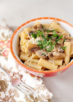 Chicken Marsala Pasta - This dish is very simple to prepare, and you probably have the ingredients in your pantry already.