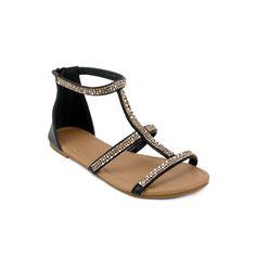 Olivia Miller Everly Women's Sandals, Teens, Size: 10, Black