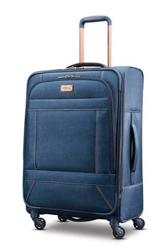 8cc822523 American Tourister Belle Voyage Spinner 28 Blue Denim *** To view further  for this item, visit the image link. (This is an affiliate link)