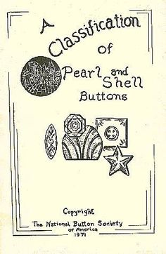 ButtonArtMuseum.com - Book A Classification of Pearl Shell Buttons