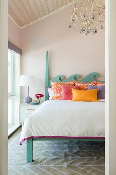 Beds and headboards for Coastal Living. From wicker headboards and beds to all kinds of great beds and headboard that are inspired by the sea or complement the coastal decor style perfectly. Featured on Completely Coastal. Coastal Furniture, Coastal Decor, Coastal Living, Wicker Headboard, Headboards For Beds, Ocean Bedroom, Girls Bedroom, Coastal Bedrooms, Beach Bungalows