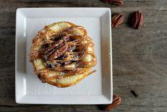 Baked Pecan Caramel Cheesecake Recipe - Blissfully Domestic