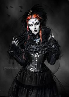 Darkness possesses a  powerful allure..............Victorian goth http://victorian-goth.tumblr.com/