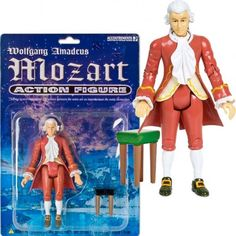Perfect!  We might buy one for Helmuth Rilling. Mozart action figure