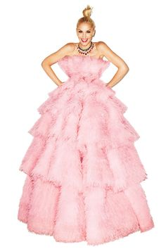 What do you think of Gwen Stefani's Barbie looks in Harper's Bazaar?