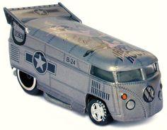Liberty B-24 Liberator Bomber Volkswagen VW Drag Bus U.S. AIR FORCE