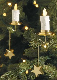 Enjoy the magic of candlelight in a tree without the risk or worry of open flames.
