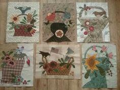 Baskets of Plenty - 6 blocks Cheri Payne