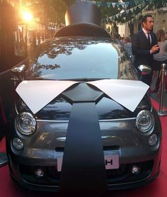It's #Saturday and this #Abarth is suited, booted and ready to #PARTY! Have a great day everyone!