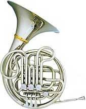 Hans Hoyer 6801 Heritage F/Bb Double Horn - nickel silver valve box, 3B ball joints, nickel silver inner and thomann outer slides, 310mm diameter bell