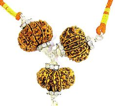 Lord Hanuman Rudraksha Pendant for Strength and Protection from Enemies