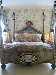 mackenzie childs bed | Pandora's Box: MacKenzie-Childs Beds