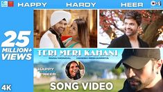 'Teri Meri Kahani Lyrics' song voice Himesh Reshmammiy and Ranu Mandal its a very pure perfect song is for Happy Hardy And Heer Movie song. and this song Lyrics created by Saha Lyrics. Popular Song Lyrics, Song Lyrics Art, Story Of The Year, Song Hindi, Movie Teaser, Old Song, Song Artists, Movie Songs, Big Love